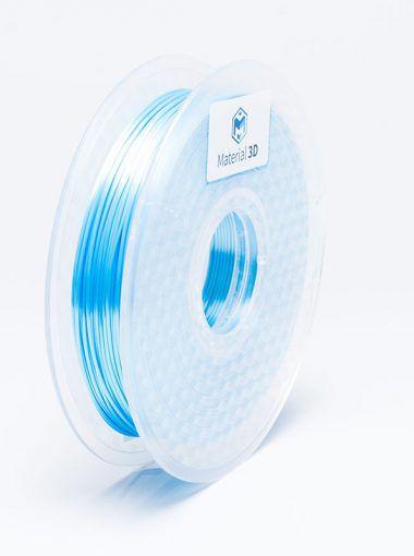 Filamento PLA - Metall Azul Claro - Material 3D -  1.75mm - 500g