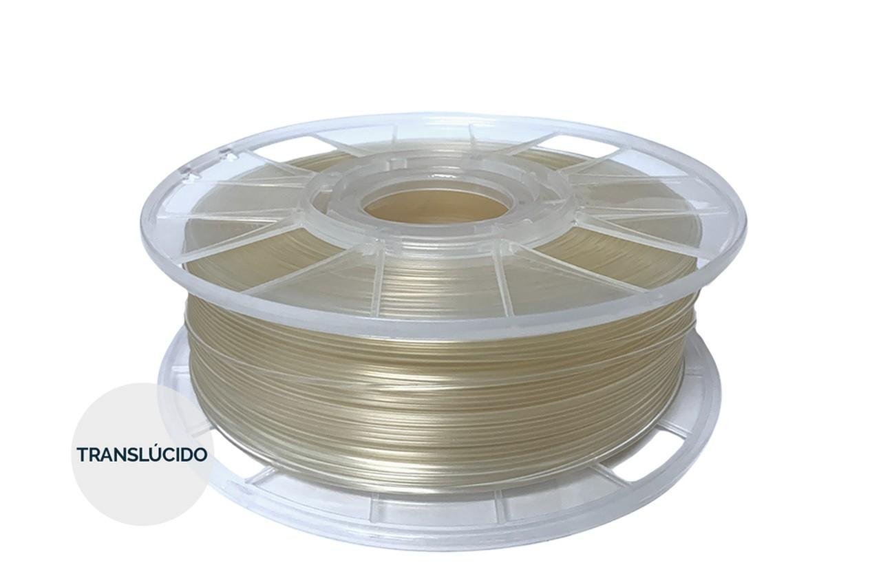 Filamento PLA - Natural - Cliever - 1.75mm - 1kg + 1 Spray Fixador