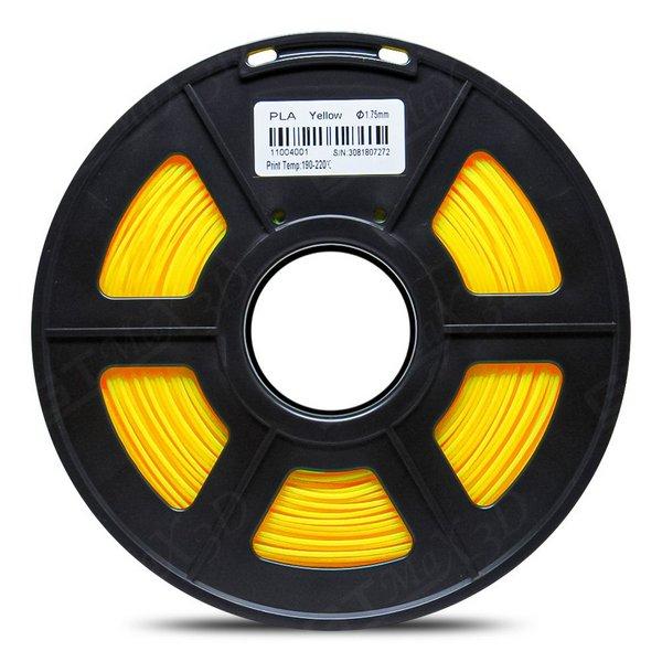 Filamento PLA Plus - Amarelo - GTMax 3D - 1.75mm - 1KG