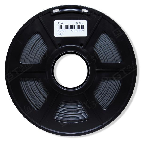 Filamento PLA Plus - Cinza - GTMax 3D - 1.75mm - 1KG