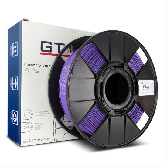 Filamento PLA Plus - Roxo - GTMax 3D - 1.75mm - 1KG