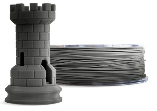 Filamento PLA - Prata - Cliever - 1.75mm - 1kg