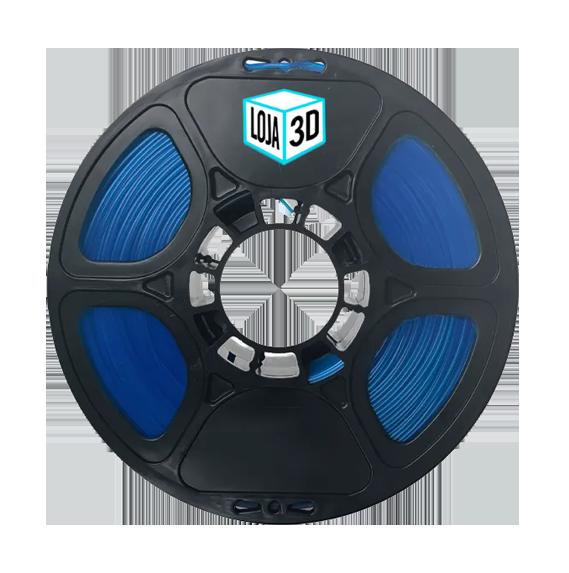 Filamento PLA Pro de Alta Resistência - Azul Escuro - Loja 3D - 1.75mm - 1kg