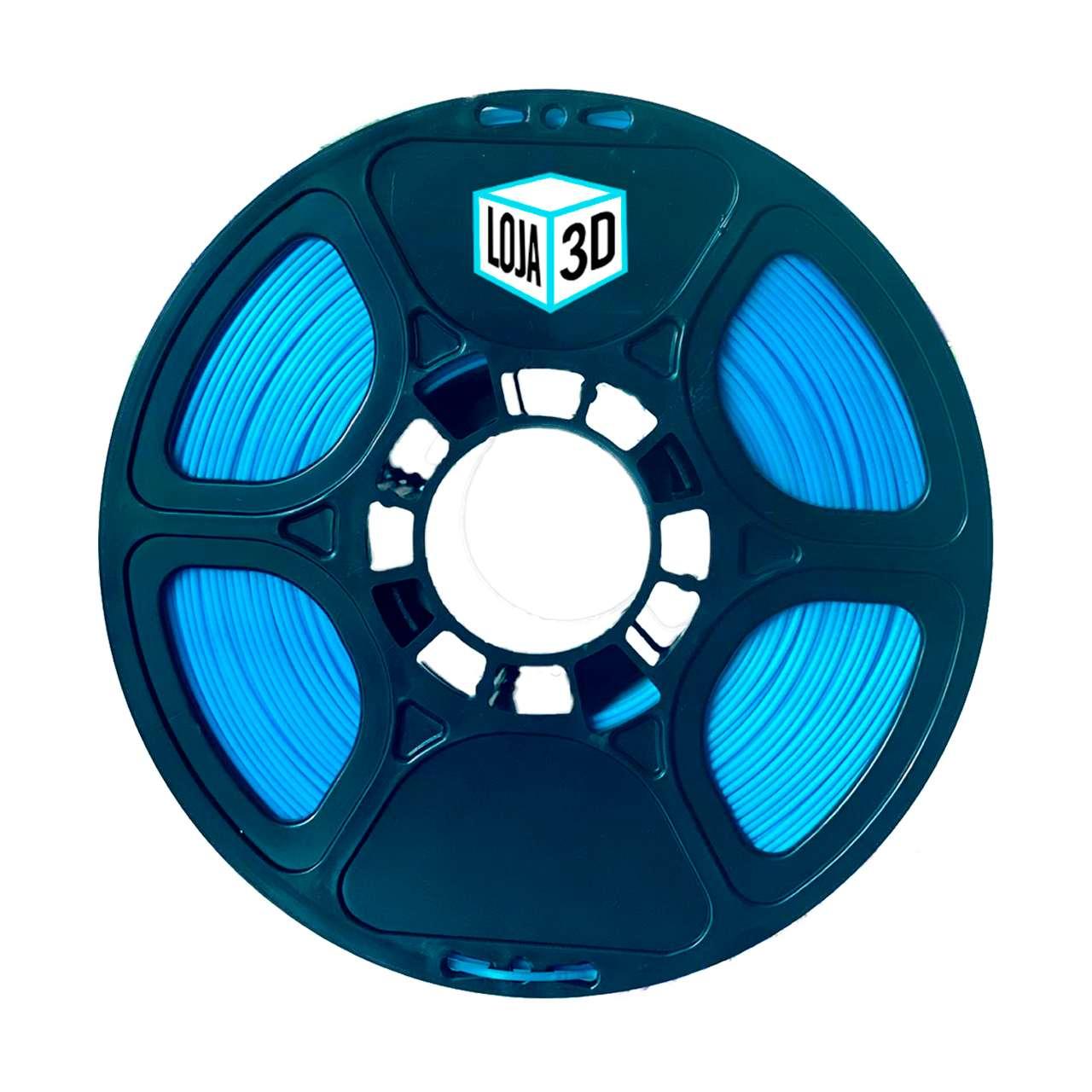 Filamento PLA Pro de Alta Resistência - Azul Marinho - Loja 3D - 1.75mm - 1kg