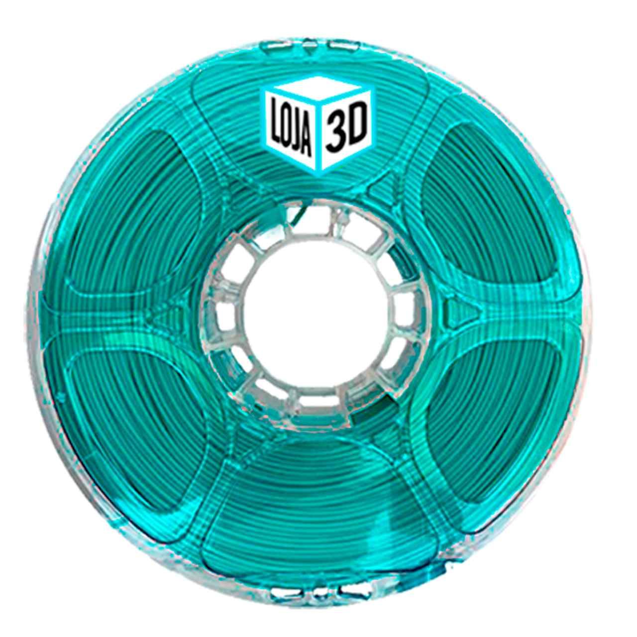 Filamento PLA Pro de Alta Resistência - Tiffany - Loja 3D - 1.75mm - 1kg