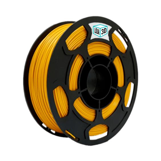 Filamento PLA Pro - Dourado - Loja 3D - 3.00mm - 1kg
