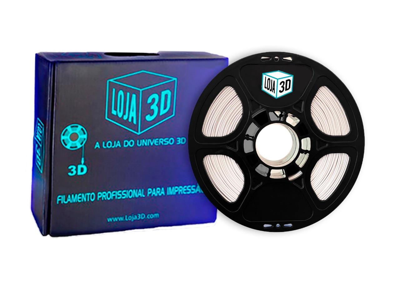 Filamento PLA Pro - ECO - Gelo - Loja 3D - 1.75mm - 1kg