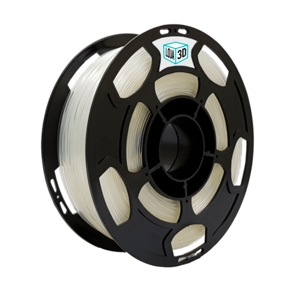 Filamento PLA Pro - Natural - Loja 3D - 3.00mm - 1kg