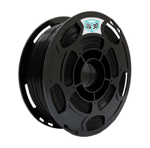 Filamento PLA Pro - Preto - Loja 3D - 1.75mm - 1kg