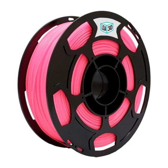 Filamento PLA Pro - Rosa - Loja 3D - 1.75mm - 1kg