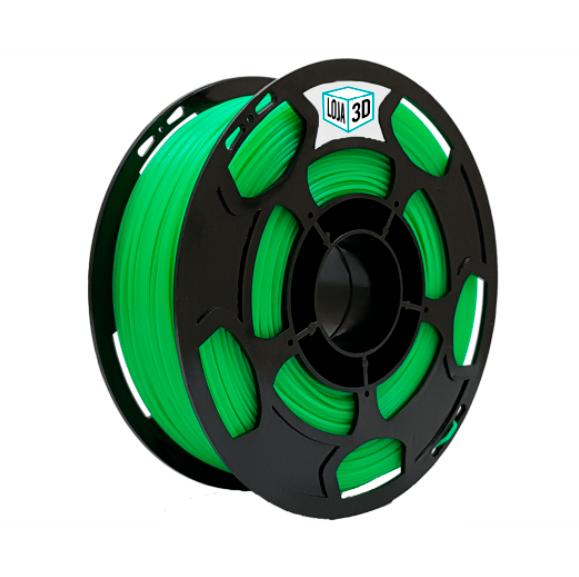 Filamento PLA Pro - Verde Limão - Loja 3D - 1.75mm - 1kg