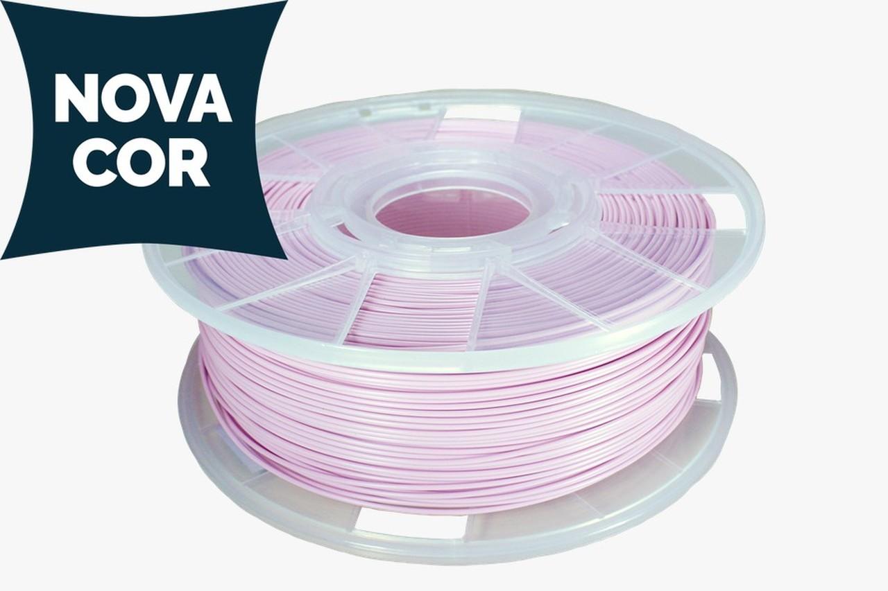 Filamento PLA - Rosa - Cliever - 1.75mm - 1kg