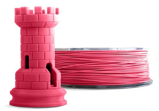 Filamento PLA - Rosa Fluorescente - Cliever - 1.75mm - 1kg