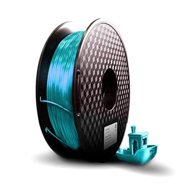 Filamento PLA  Silk - Azul Turquesa Metal - 3D Lab - 1.75mm - 1kg