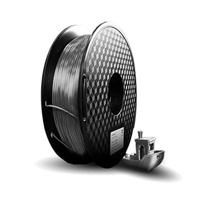 Filamento PLA  Silk - Prata - 3D Lab - 1.75mm - 1kg
