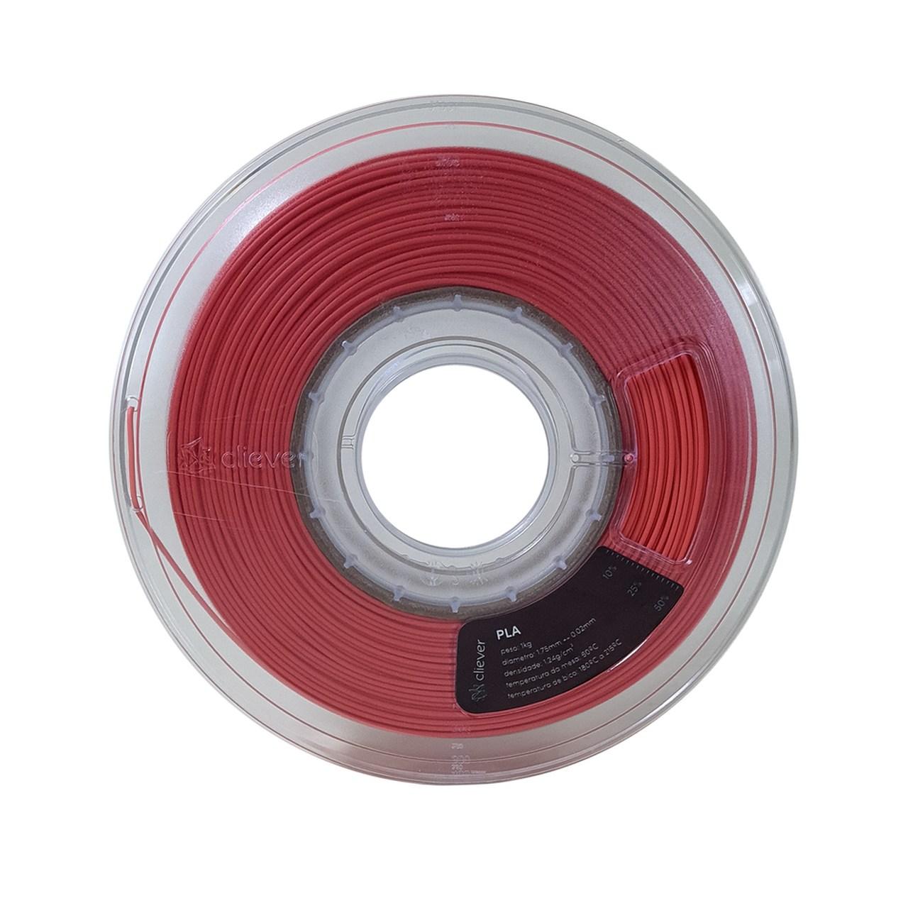 Filamento PLA - Terracota Claro - Cliever - 1.75mm - 1kg