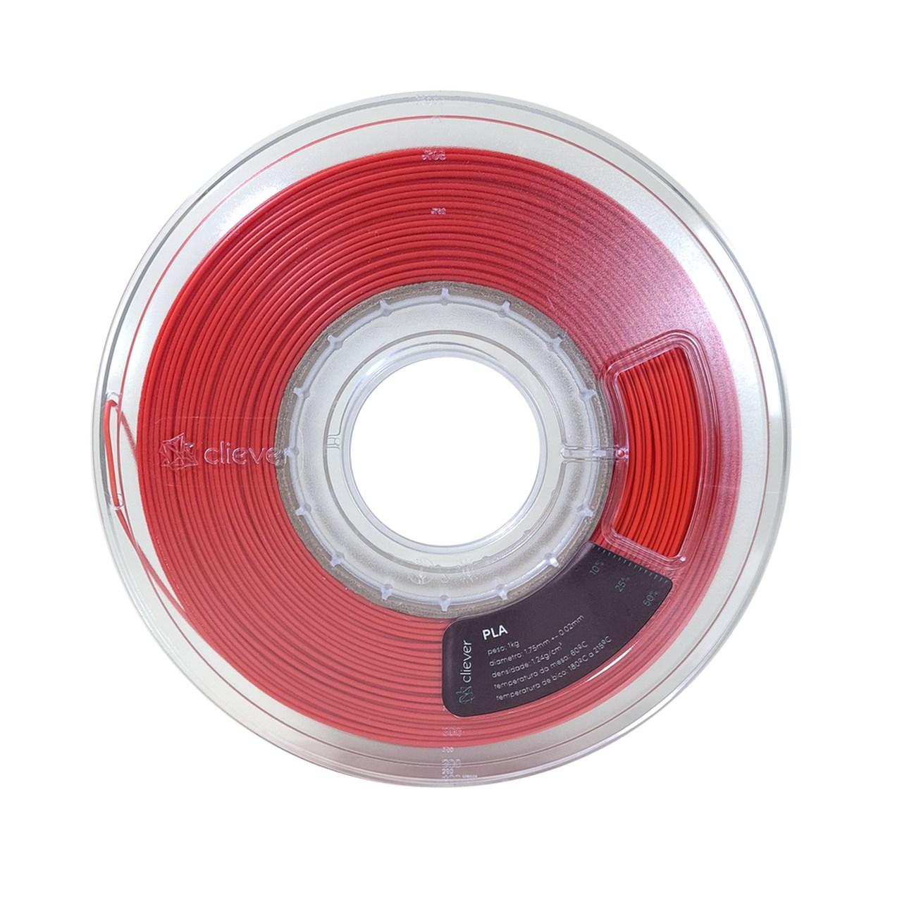 Filamento PLA - Terracota - Cliever - 1.75mm - 1kg