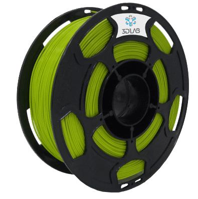 Filamento PLA - Verde Abacate - 3D Lab - 1.75mm - 1kg