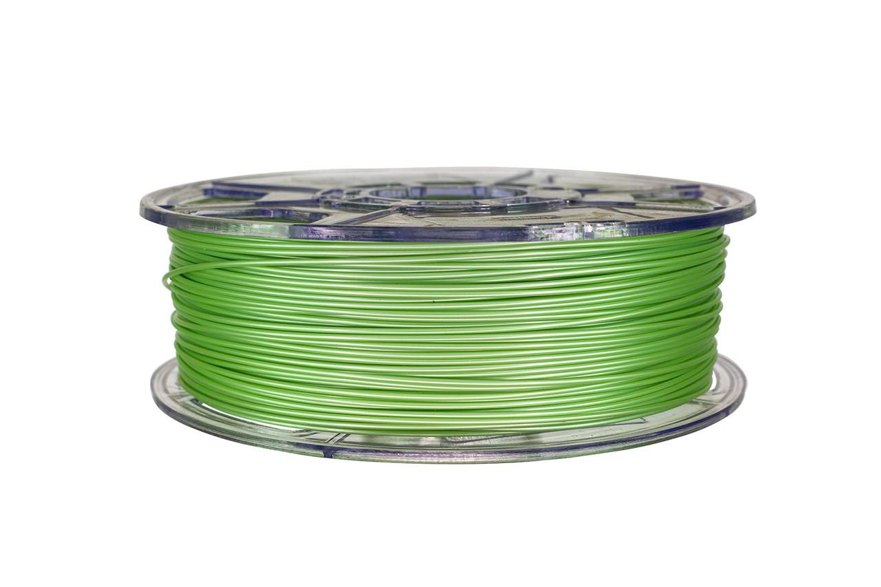 Filamento PLA - Verde claro metalizado - Cliever - 1.75mm - 1kg