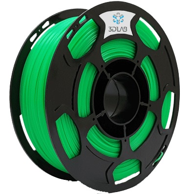 Filamento PLA - Verde Limão - 3D Lab - 1.75mm - 1kg