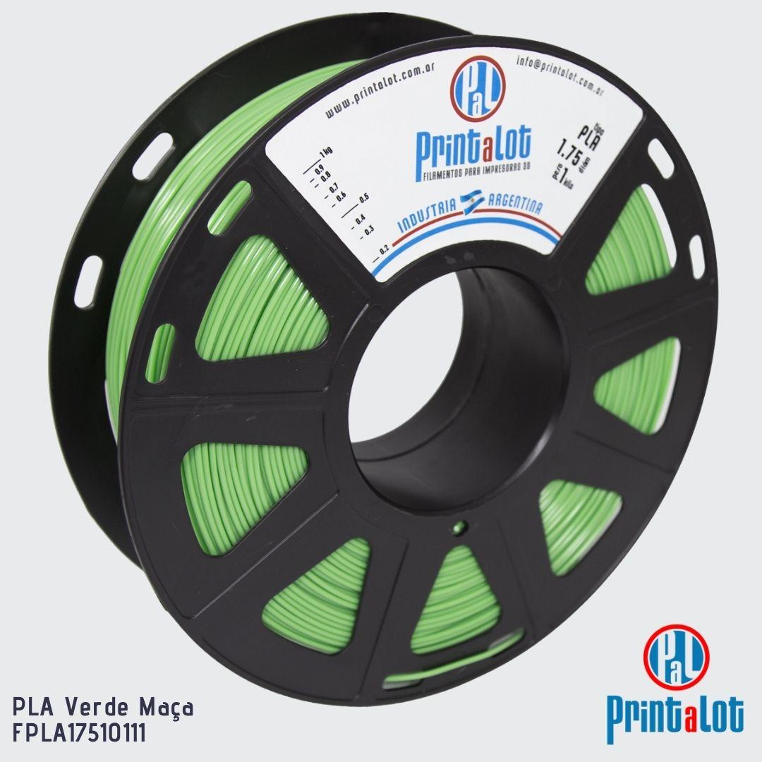 Filamento PLA - Verde Maçã - PrintaLot - 1.75mm - 1KG