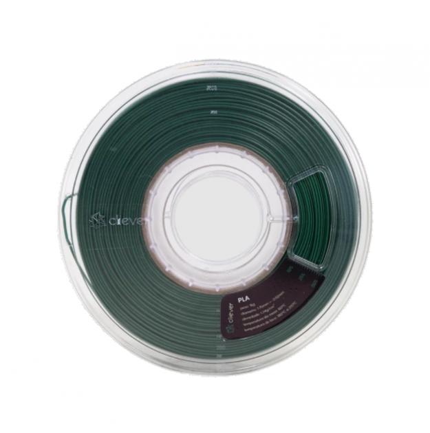 Filamento PLA - Verde Metalizado - Cliever - 1.75mm - 1kg