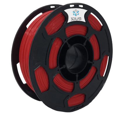 Filamento PLA - Vermelho - 3D Lab - 1.75mm - 1kg