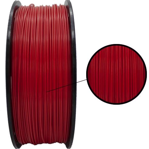 Filamento PLA - Vermelho - 3D Lab - 1.75mm - 200g