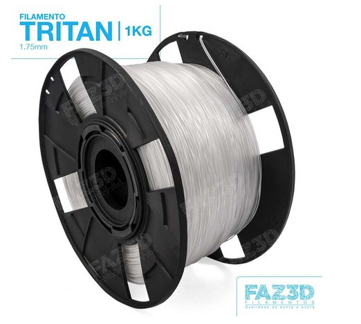 Filamento Tritan - Natural - FAZ3D - 1.75mm - 1KG