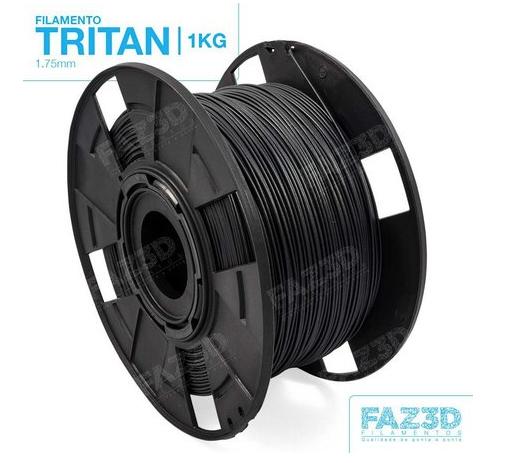 Filamento Tritan - Preto - FAZ3D - 1.75mm - 1KG