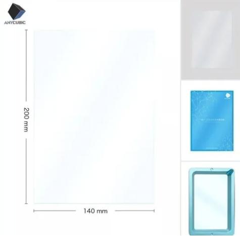 Filme Fep para Impressora de Resina - 5 Unidades - Original - Anycubic