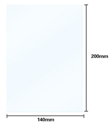 Filme Fep para Impressora de Resina - 5 Unidades - Anycubic Photon - SLA/DLP