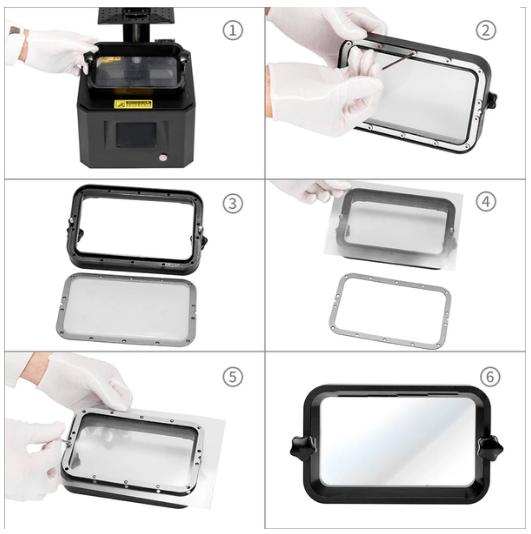 Filme Fep para Impressora de Resina - Creality - LD-001 / LD-002 / LD-002R /