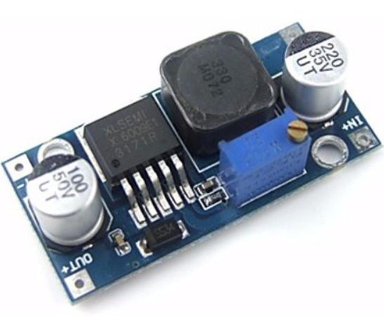 Fonte Regulável - Xl6009 - Dc-dc - Arduino - Step-up (boost)
