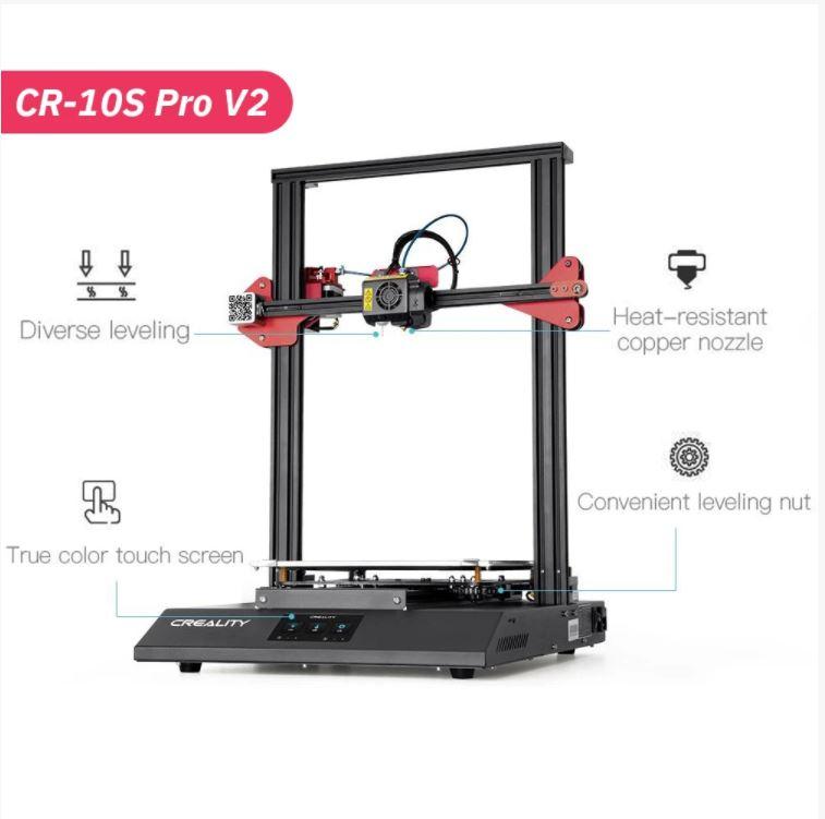 Impressora 3D Creality 3D® - CR-10S Pro V2