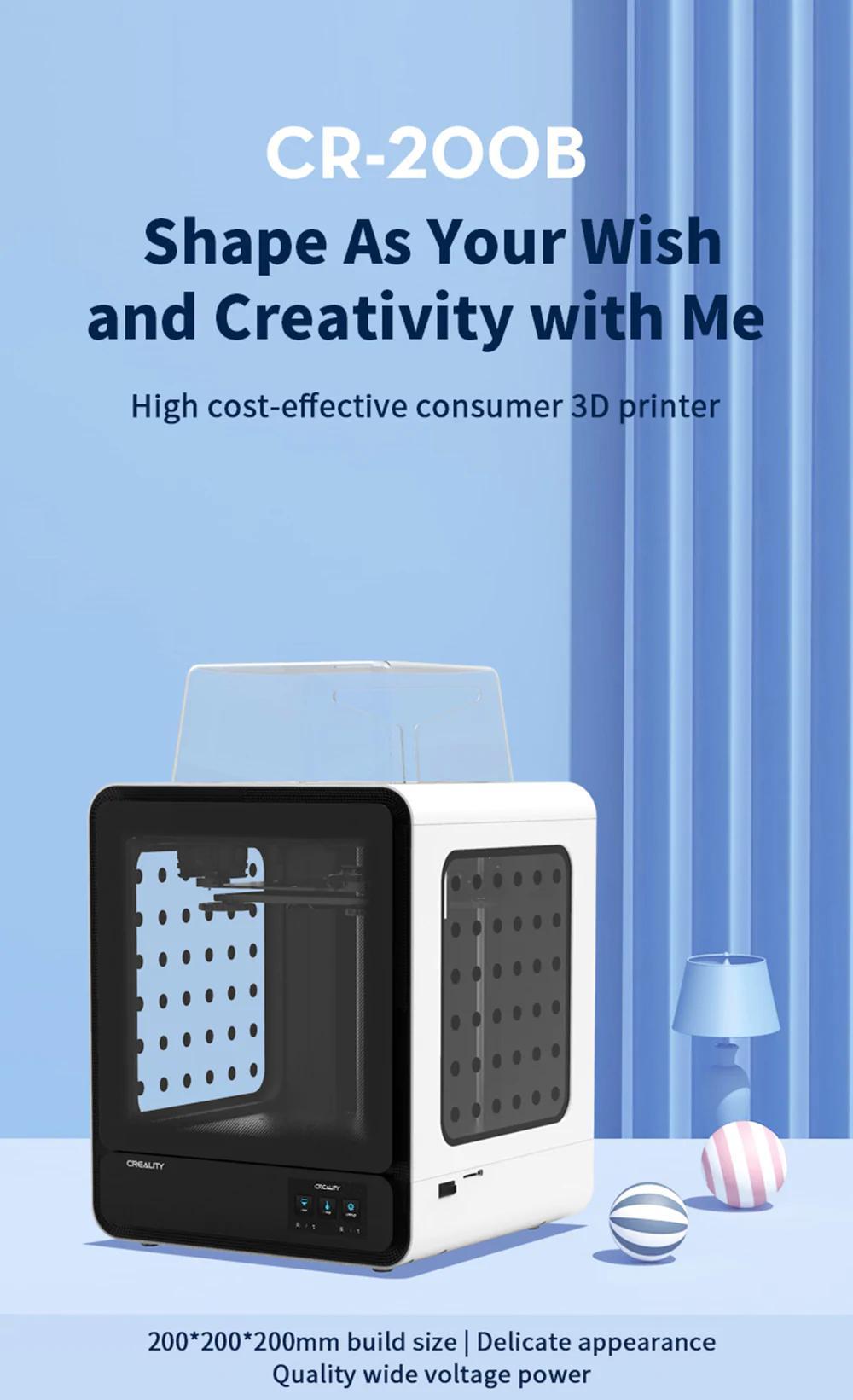 Impressora 3D Creality 3D® - CR-200B
