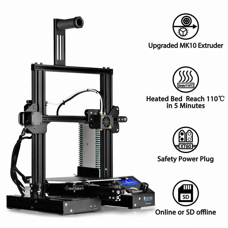 Impressora 3D Creality 3D® - Ender 3 PRO
