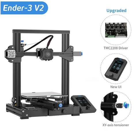Impressora 3D Creality 3D® - Ender 3 - V2