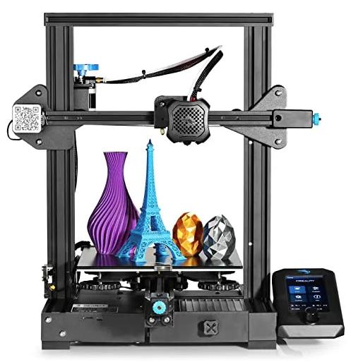Impressora 3D Creality 3D® - Ender 3 - V2 - Montada e Testada