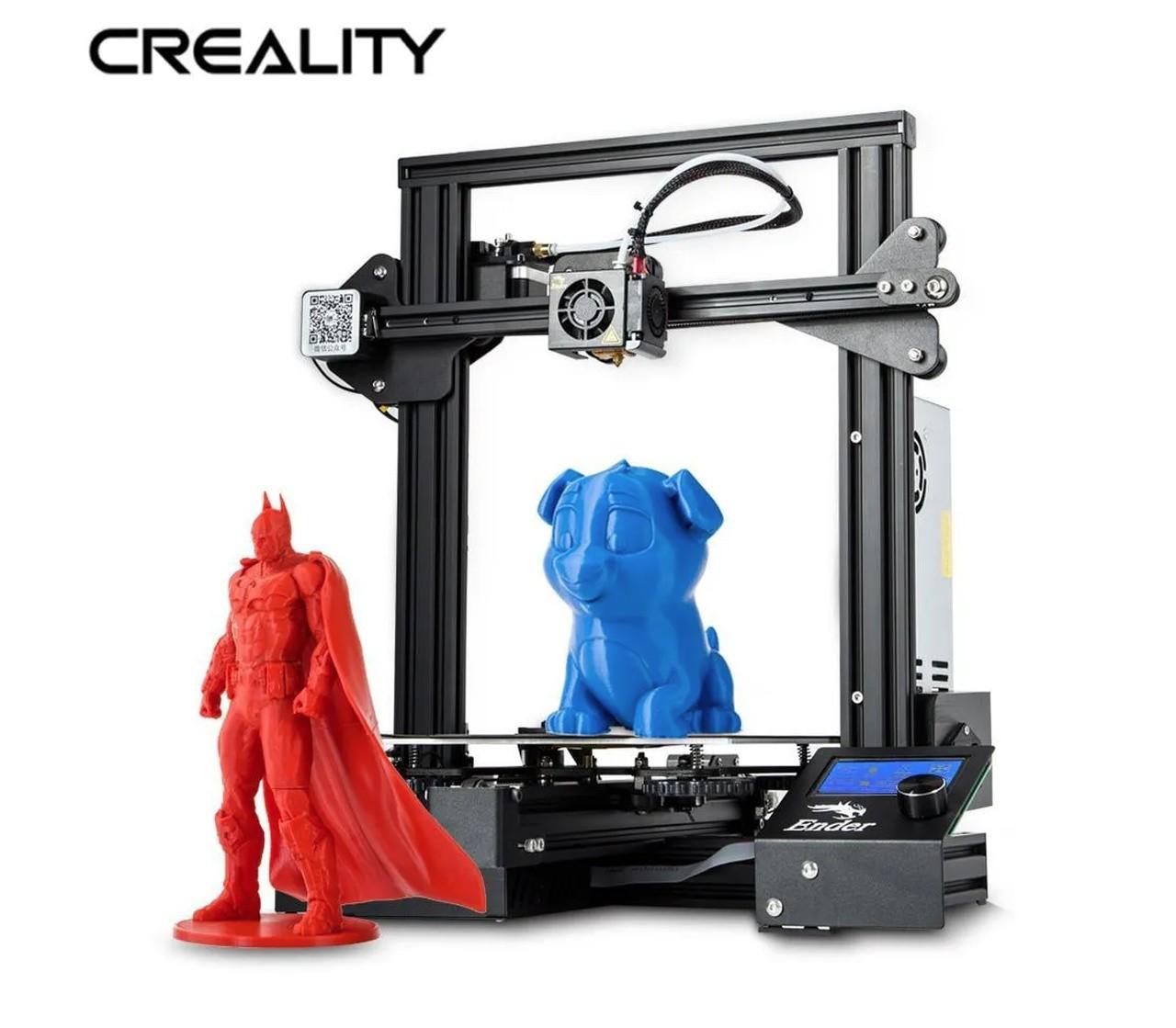 Impressora 3D Creality 3D® + Placa de 32 Bits - Ender 3 PRO - Montada e Testada