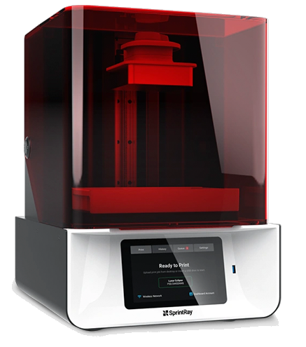 Impressora 3D de Resina - SprintRay Pro 55 DLP - 3D Touch