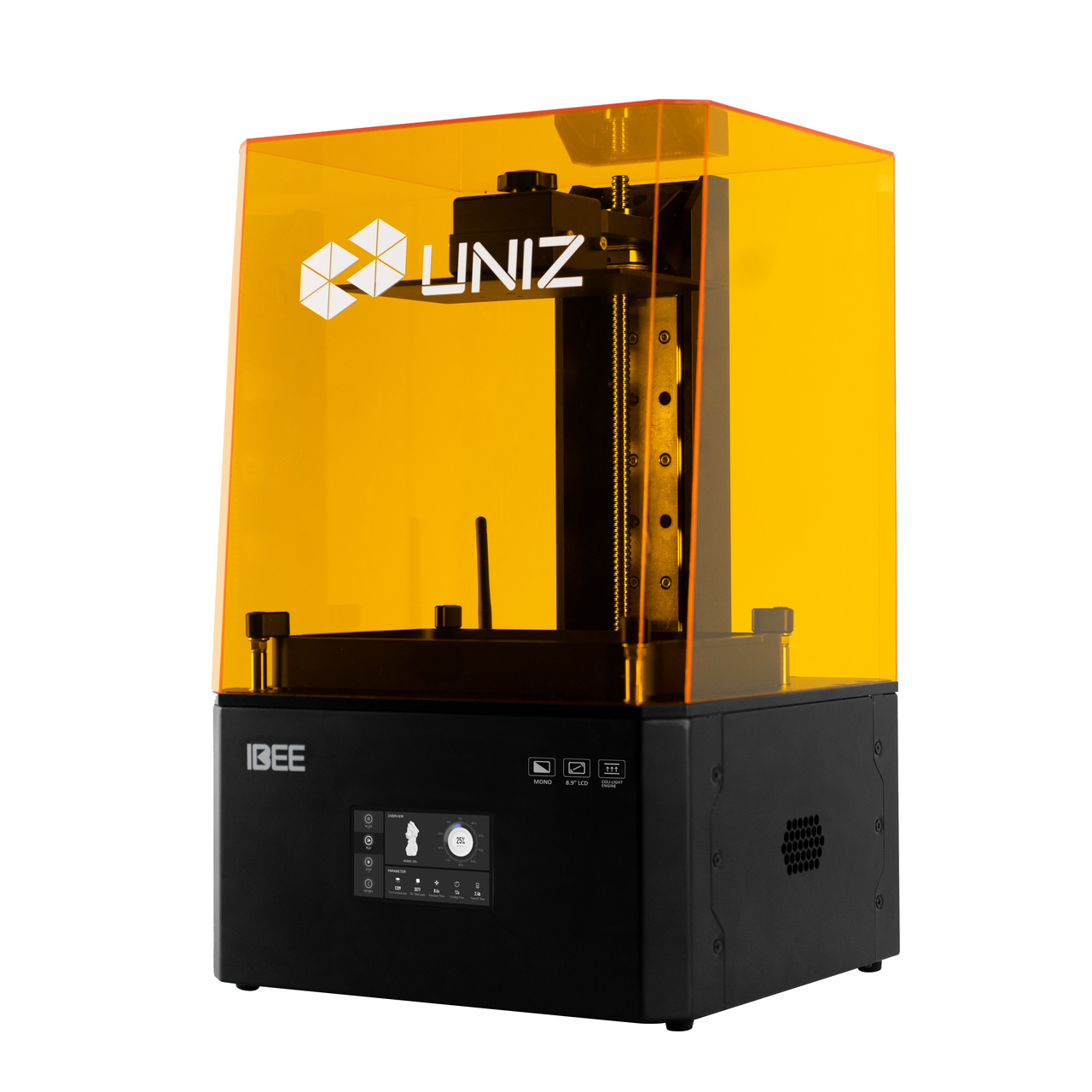 Impressora 3D de Resina - Uniz IBEE - 3D Touch