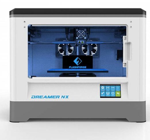 Impressora 3D Dreamer - Flashforge + 2 Rolos de Filamentos