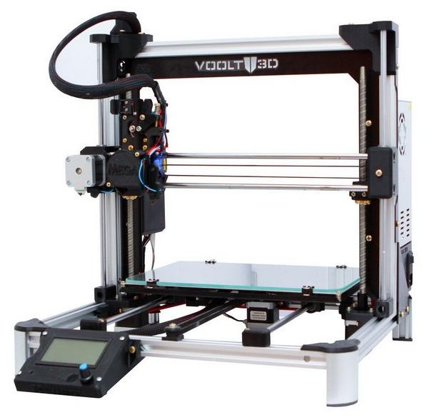 Impressora 3D - MEGA - Voolt 3D