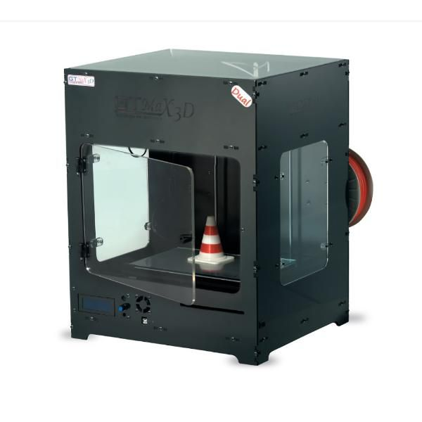 Impressora 3D Profissional A1 Dupla Extrusora + Simplify + 1KG De ABS