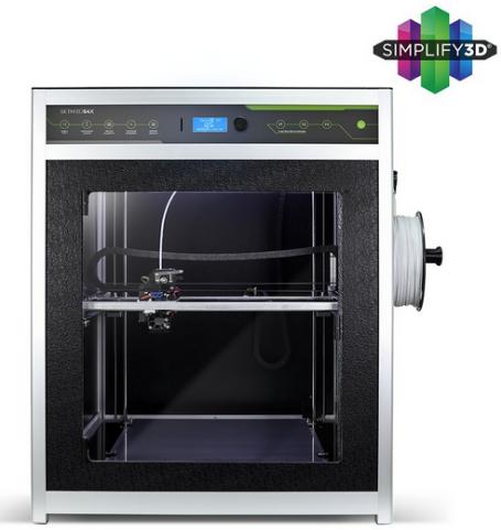 Impressora 3D S4X - Sethi3D - 1.75mm + 1 KG de PLA + Simplify