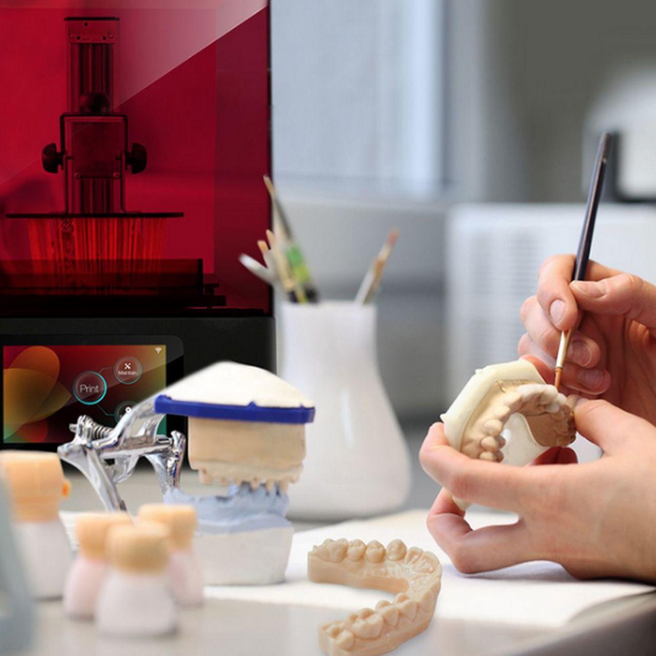 Impressora 3d de Resina - Liquid Crystal HR2