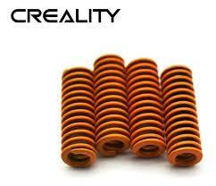 Kit 4 Molas Planas Para Mesa Aquecida Hotbed Creality 3d.