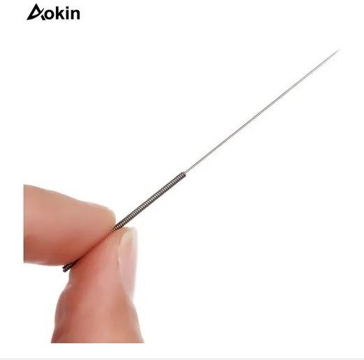 Kit com 5 Agulhas para Limpeza de Bicos - Impressoras 3D - Aokin - 0.4mm