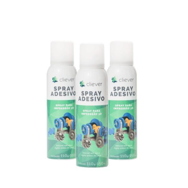 Kit Com 3 - Spray Fixador Para Impressão 3D